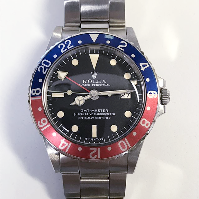 ROLEX GMT Ref.1675 Long E Full Set
