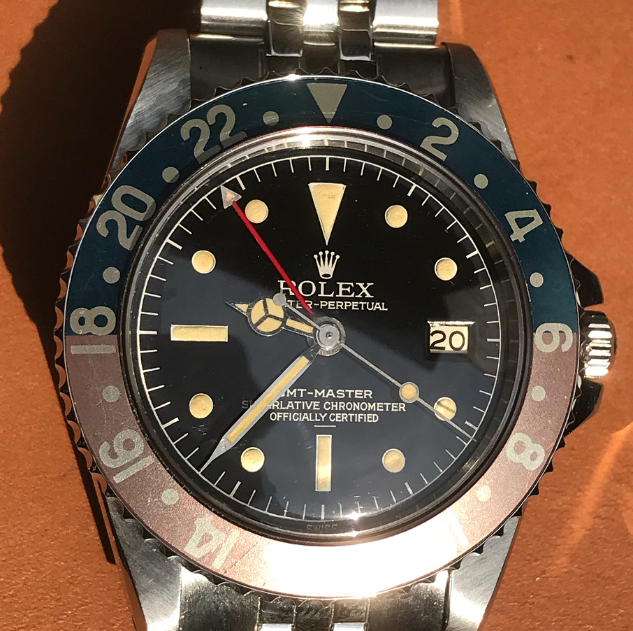 ROLEX GMT-MASTER Ref.1675 MM Underline