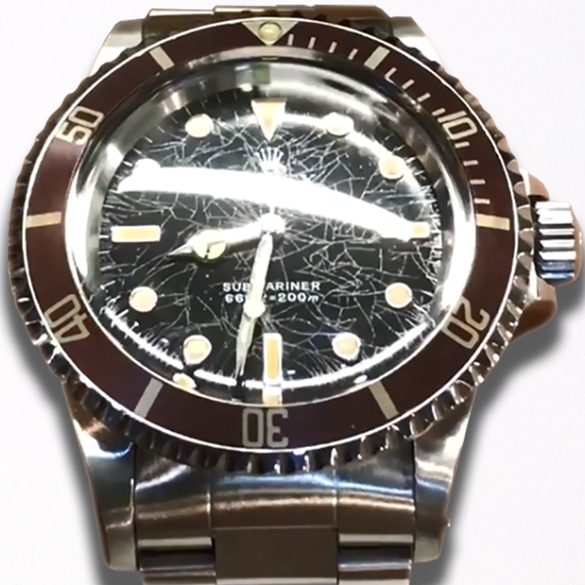 ROLEX SUBMARINER Ref. 5513 SPIDER DIAL