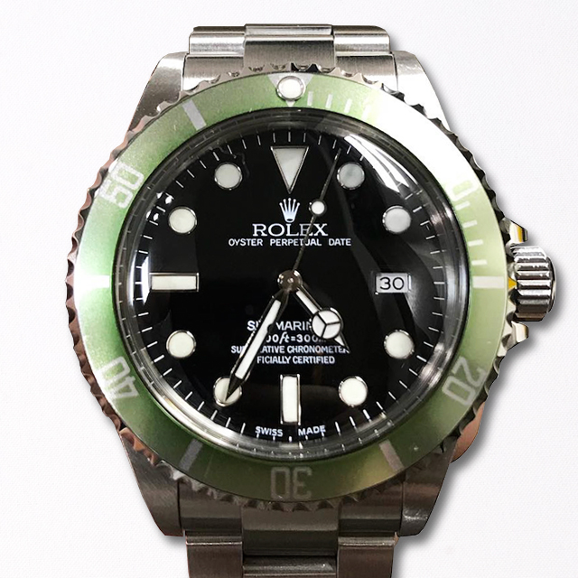 ROLEX SUBMARINER DATE Ref. 16610 LV Full Set