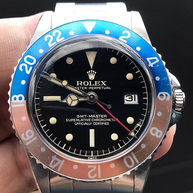ROLEX GMT Ref.1675 MM