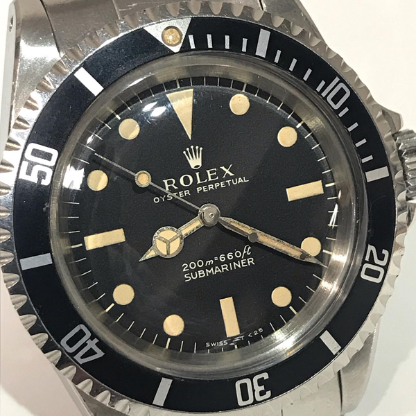 ROLEX SUBMARINER Ref.5513 meters first