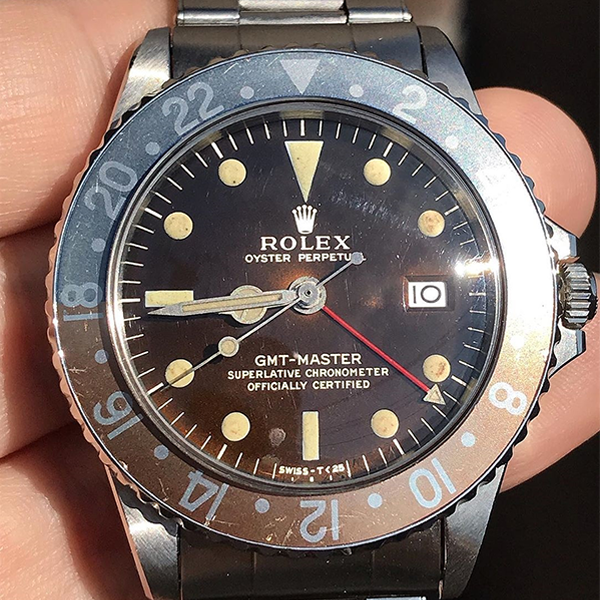 ROLEX GMT Ref.1675 Tropical Gilt